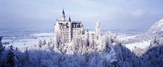 I still think about visiting Neuschwanstein Castle outside of Munich on a snowy day!