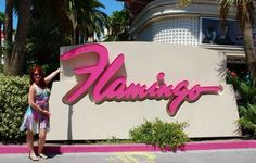 Couldn't go to Las Vegas and NOT go to the Flamingo!!