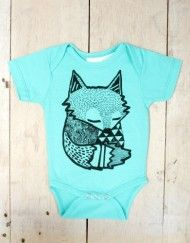 organic cotton onesie's for the SuperCool babe in your life!