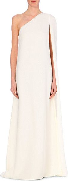 Love this: VALENTINO One-Shouldered Silk Gown @Lyst