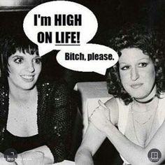 Miss Minnelli and Miss M