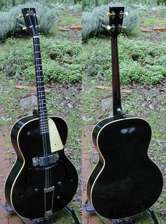 1939 Vega Electric Archtop Tenor Guitar