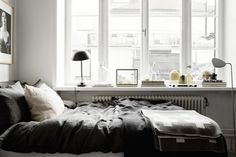 little town life | monochrome home of an interior stylist