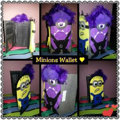 wallet and cover cel minions