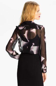Diane von Furstenberg Print Silk Blouse | Nordstrom