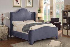 Topaz Queen Bed Grey