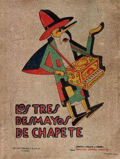 """Pinocho (Personaje de ficción). Los tres desmayos de Chapete : (continuación de """"Chapete, bandolero"""") / [dibujos de Bartolozzi] (1932)"""