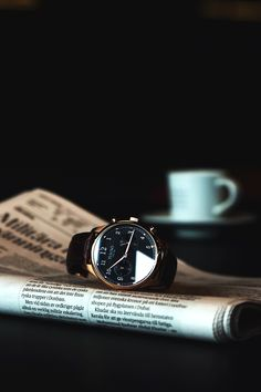 """themanliness: """" The beautiful Tusenö First 42, this piece really sets a new standard in affordable luxury watches. FIRST 42 - ROSÉ GOLD / BLACK Shop Here """""""