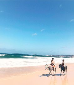 Rainbow Beach!   Riding horseback down a beautiful Australian beach in the summertime with @RainbowBeachHorseRides   Tag a partner or someone you would do this with  Originally posted on: https://www.instagram.com/p/BO3pDCYgwEC/