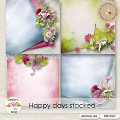 Happy days stacked :: Papers :: Memory Scraps