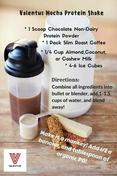 Healthy protein shake with weightloss coffee. Get your slim roast at Www.healthyhappyyou.world