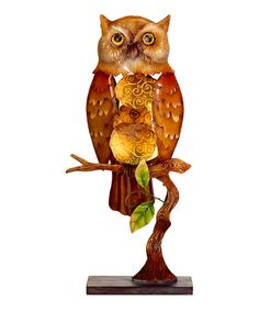 Take a look at this Capiz Shell Electric Owl Luminary by DecoFLAIR on #zulily today!