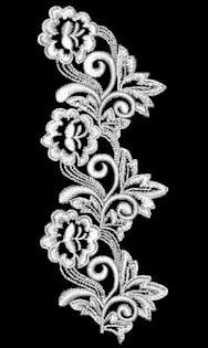 d*ale bunicii!: MODELE DE BRODERII MANUALE SI MECANICE Brooch, Diamond, Bracelets, Floral, Rings, Flowers, Jewelry, Embroidery, Jewlery