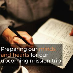 We are going to Honduras in just a couple of weeks! On this week's podcast we take some time and prepare our minds and hearts for our upcoming trip by asking ourselves some spiritual prep questions.