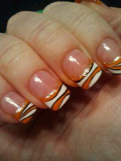 Finding Nemo nail design!