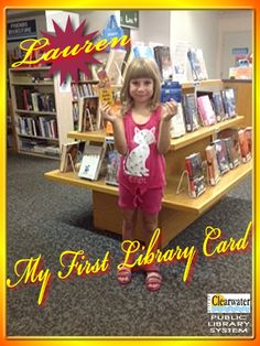 Congratulations Lauren! Welcome to the Clearwater Public Library System. Your future awaits...