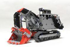 Lego Technic Terex RH400 Excavator