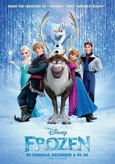 """Extrait affiche officielle du film """"La Reine des neiges"""" disponible sur Cinemoviz.com"""