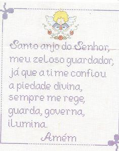 ♥Meus Gráficos De Ponto Cruz♥: Orações Infantis