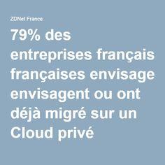 On constate un niveau élevé d'adoption du cloud privé dans les entreprises françaises assure une étude. Reste des inquiétudes quant à la complexité d'installation, les risques de lock-in et le manque de compétences.