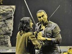 Νικος Βεργίδης στο ρόλο του Σερίφη. Διασκευή Μ Κοβανίδη Fictional Characters, Fantasy Characters