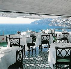 And this is where we'll eat    Hotel Luna Convento   Albergo Storico con Chiostro del 1200  Via Pantaleone Comite, 33  84011 Amalfi (SA) - Italy  Phone +39.089.871002 - 871050  Fax +39.089.871333  e-mail: info@lunahotel.it