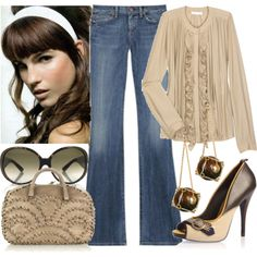 Untitled, created by #greta-greta on #polyvore. #fashion #style Chloé Citizens of Humanity
