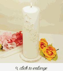 Sparkling Entwined Unity Candles - Wedding Unity Candles - Unity Candle Ideas - Wedding Unity Ceremony