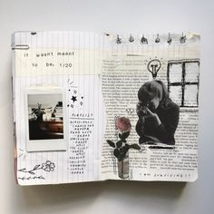 art journals — florallpeach: friendly reminder that we're all...