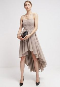Swing - Ballkjole - lightkhaki Dress Codes, 2015 Dresses, High Low, Sale 2015, Fashion, Dress Code, Party Dress, Woman Clothing, Women