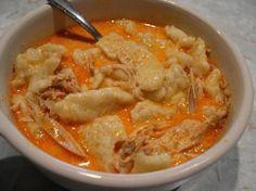 Hungarian Chicken Paprikash*Chicken and dumplings Recipe - substitue GF spaetzel