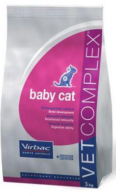 Pienso Virbac Vet complex baby cat pienso para gatitos. Pienso para gatos / Comida para gatos: Pienso Virbac Vet complex baby cat pienso para gatitos. Pienso indicado para gatitos de todas las razas. En Petclic ahorras mas de un 35% en todas tus compras de piensos y alimentación para gatos. Todas las garantías. Toda la seguridad que necesitas y mas de 5.000 productos de alimentación rebajados. www.petclic.es