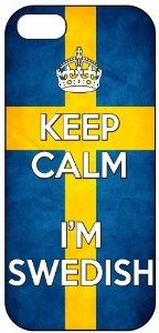 Amazon.com: Keep Calm I'm Swedish, Sweden Flag, iPhone 5 Premium Hard Plastic Case, Cover, Aluminium Layer, Quote, Quotes, Motivational, Ins...