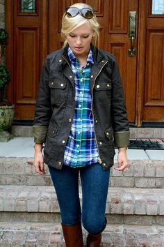 Field Jacket is a must have fall item for Emily
