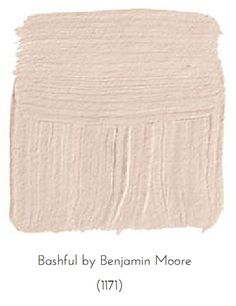 """Is The Blush Pink Trend Here To Stay? (Benjamin Moore """"Bashful"""")"""