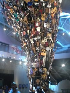 Over seven Hundred instruments. Amazing