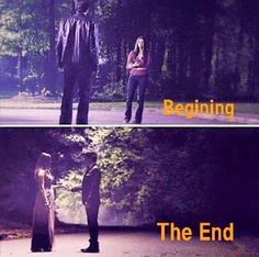 The Vampire Diaries This is not the end, this is not the end.......you and me gotta whole lotta history......