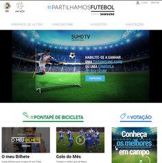 Samsung celebra o Futebol com TV SUHD