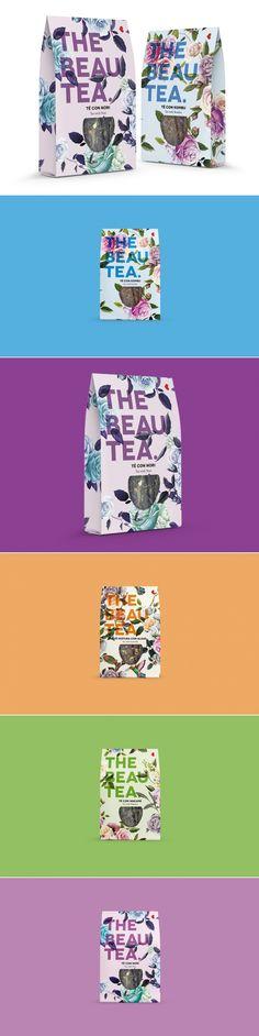 Beautea is Definitely In the Eye of the Beholder — The Dieline | Packaging & Branding Design & Innovation News