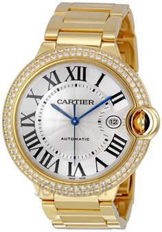 Cartier Ballon Bleu 18k gold and diamond watch ♥♥♥