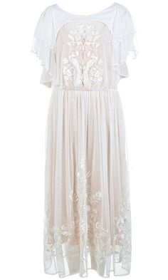 Miss Selfridge Embroidered Maxi Dress, £110