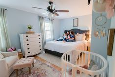 Nursery Nook in Master Bedroom