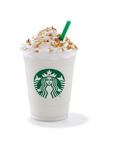 starbucks coconut creme frappuccino - Yes, I know coconut again, but I truly do adore all things coconut!