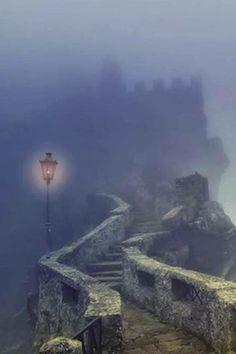 Foggy Lamp.. Lovely