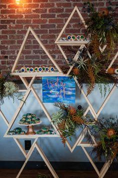 DIY Geometric Dessert Bar
