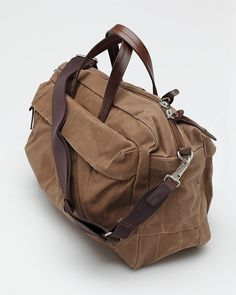 Property Of… Sand Waxed Cotton Weekender Bag | The Carry