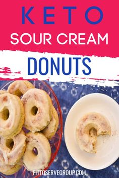 Fat Loss Apple Cider Vinegar These keto sour cream donuts will bring old fashioned donuts back into your life while doing keto. Their tender crumb makes them pure perfection! Low Carb Donut, Low Carb Keto, Low Carb Recipes, Healthy Recipes, Low Carb Deserts, Low Carb Sweets, Ketogenic Desserts, Keto Snacks, Healthy Snacks