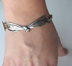 dragonfly bracelet by friendlygesture on Etsy, $16.00
