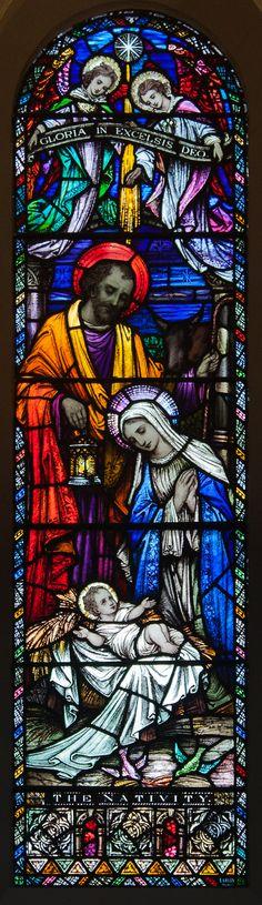 The Nativity - Église St Pierre et St Paul - Clonmel, County Tipperary, Irlande