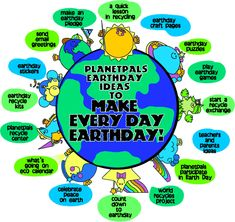 Everything you need for Earthday!